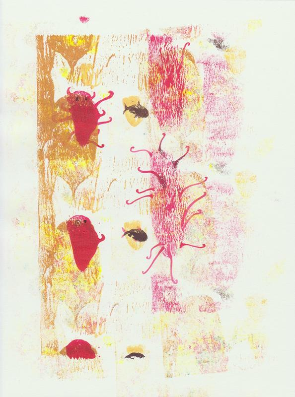<i>Day Dream</i><br>mixed media on paper | 28 x 21 cm | 2012<br><i>technique mixte sur papier</i>